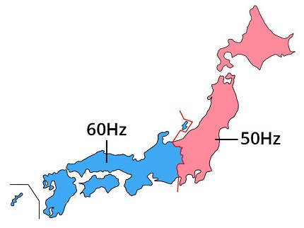 Frequency of Electricity in Japan