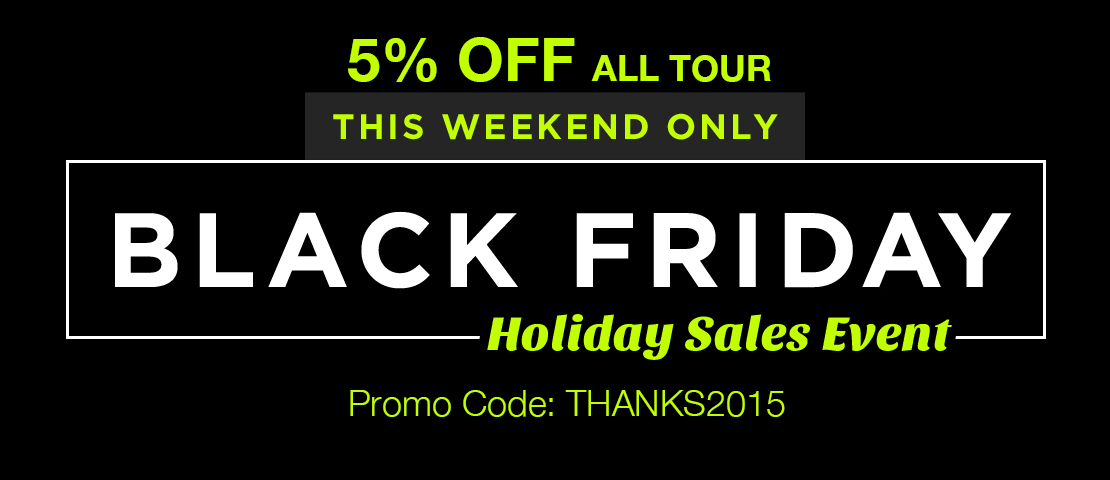 Black Friday Cyber Monday Sale | Japan Tours