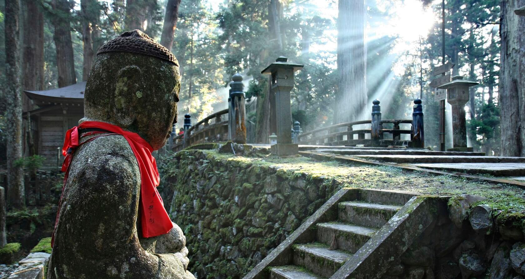 Mt. Koya in Wakayama