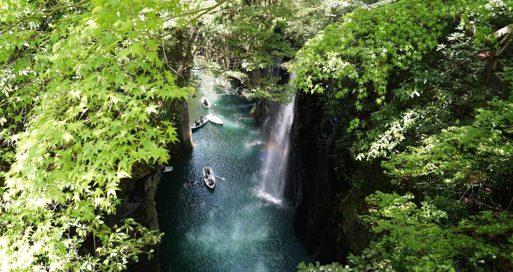 Takachiho Gorge in Miyazaki
