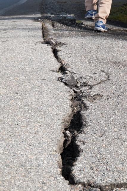 Damage throughout Japan's Southern Region