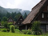 Photo of Shirakawago Gassho Village in the hidden mountain area