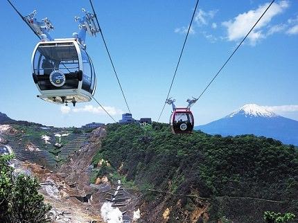 Owakudani Valley Hakone Ropeway Open!