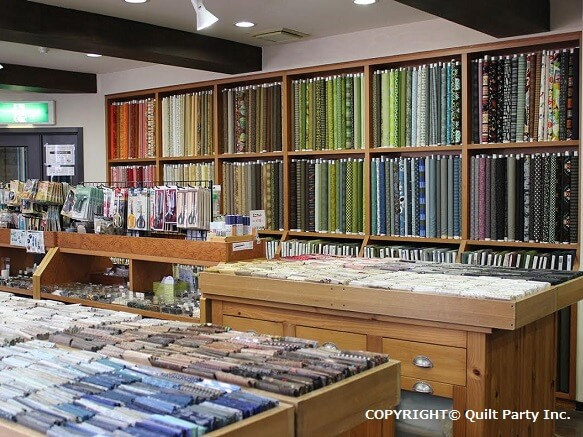 Quilt Party Retail Shop Japan Deluxe Tours