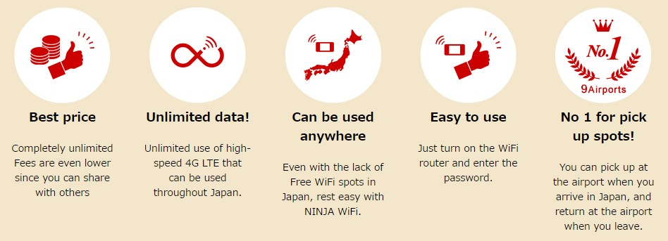 Advantages of NINJA WiFi