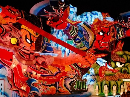 image of a Northern Japan Festival