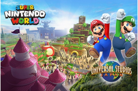 Super Nintendo World Unveiled!