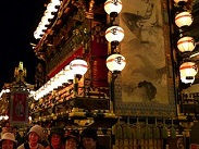 Photo of Takayama night festival - Parading of the gold decorated floats