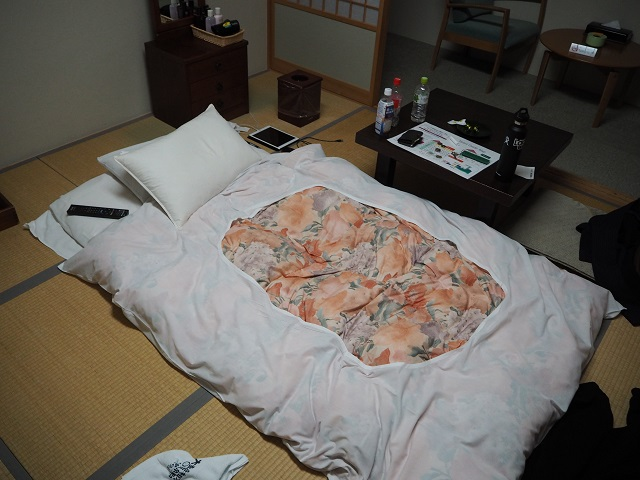 Travel Japan: Sleeping on a Futon!