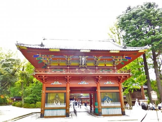 The Nezu Shrine