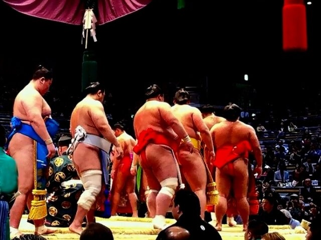 Travel Japan: Watching Sumo Wrestlers Practice!