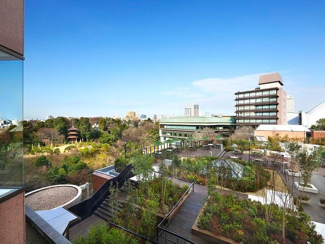 Tokyo Hotel's Luxury Garden