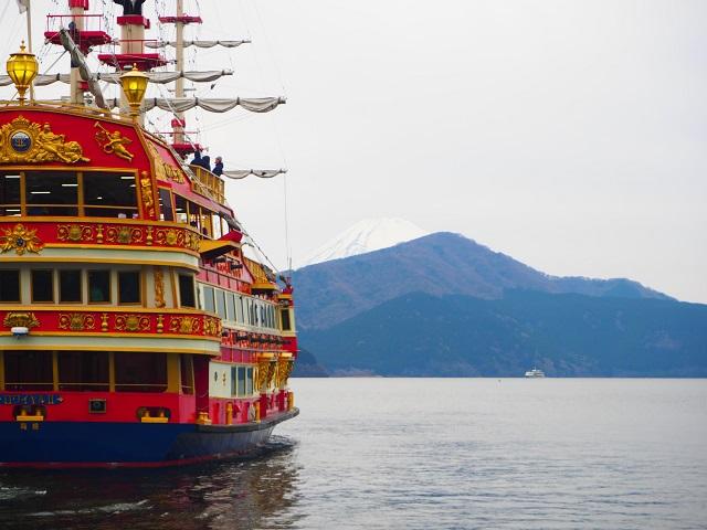 Hakone/Open Air Museum/Lake Ashi/Mt. Fuji