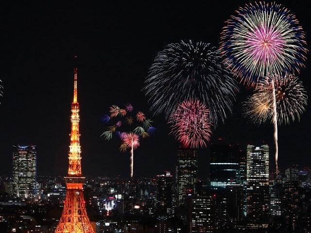 Summer Fireworks Shows