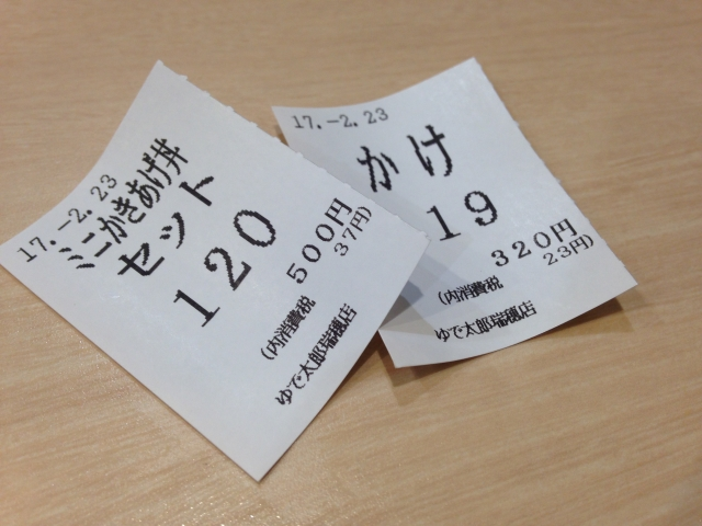 Tickets for Food
