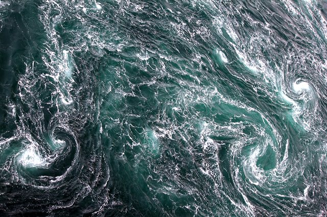 1) See the Naruto Whirlpools!