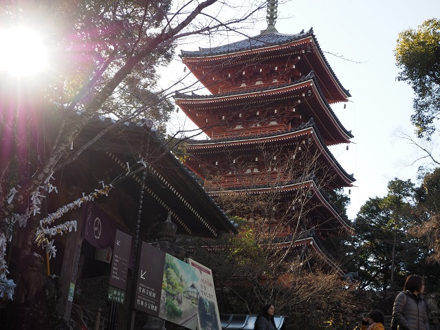2) Visit a temple on the 88 Temple Pilgrimage