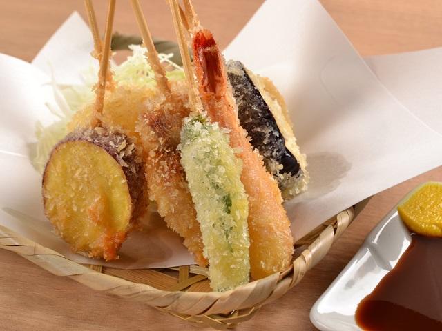 Deep Fried Kushiage | Kushikatsu
