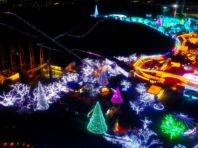 Travel Japan: Yomiuri Land Illumination
