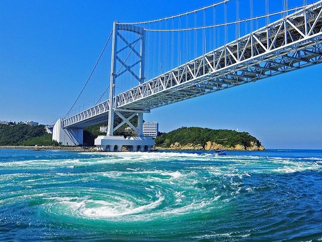 Tokushima | Powerful Swirling Water