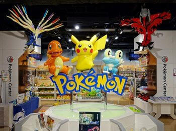 image of pokemon center japan