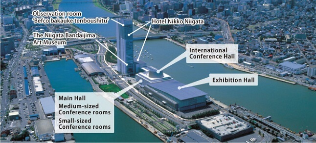 Niigata Landmark | Toki Messe Convention Center