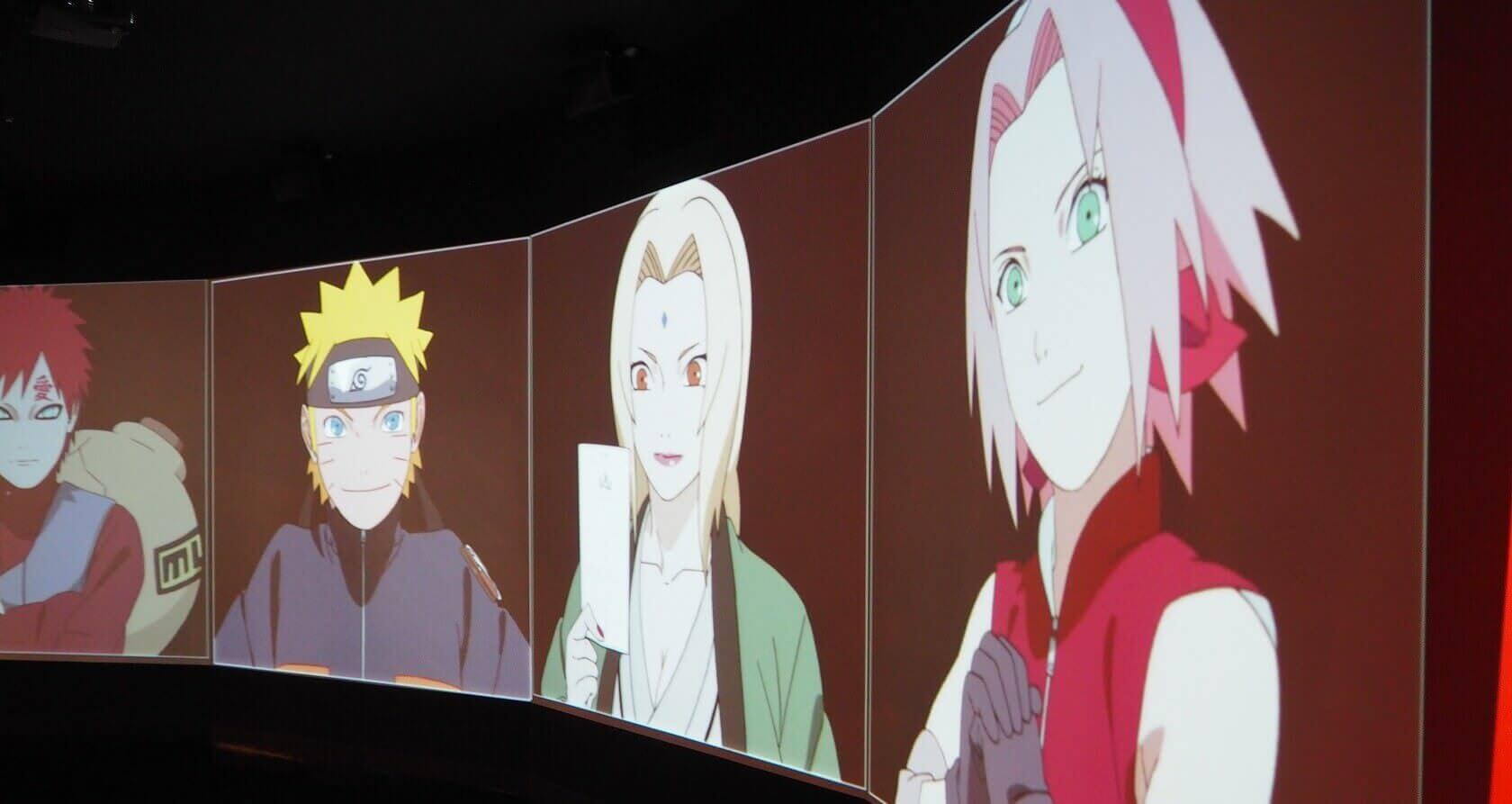 Naruto Display