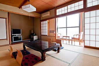 Japanese Style Hotel with Tatatmi mat