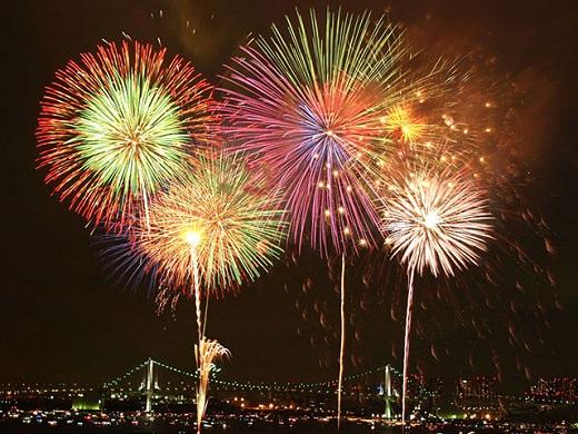 Fireworks (Hanabi) Festivals & Lantern Matsuri's