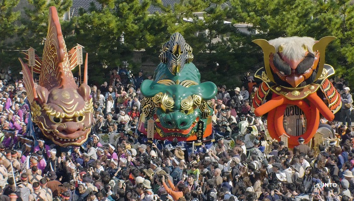 Lively Festival in Karatsu