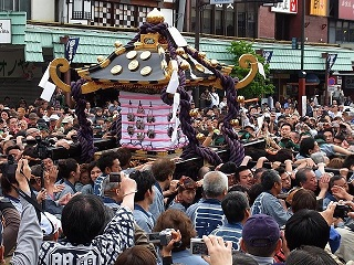 Image of the Sanja Festival in Tokyo, Image from <cite>© TCVB</cite>