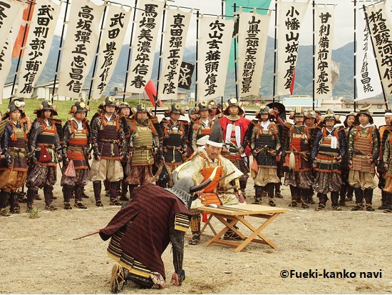 Reenacting the Samurai Battle of Kawanakajima