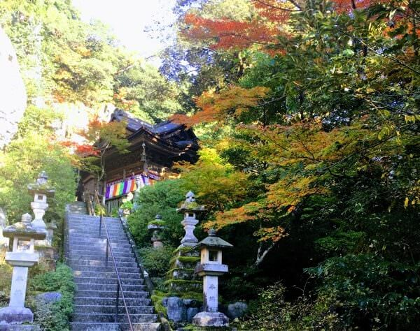 Ishikawa Temple by Mount Hakusan