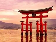 Image of Miyajima Island's Itsukushima Shrine
