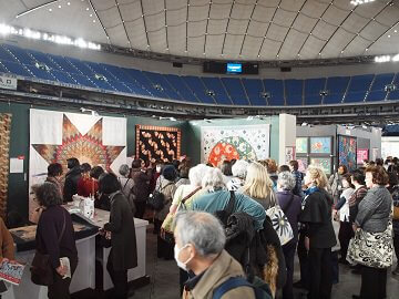 1. Tokyo International Great Quilt Festival Tour 10 Days<a name=quilt2></a>