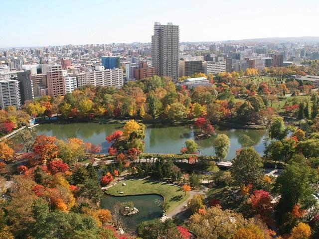 City Park in Sapporo