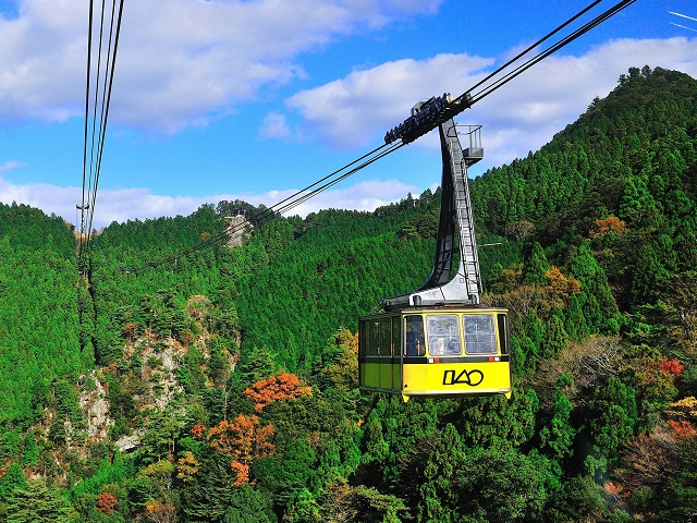 Scenic Ropeway to the Temple