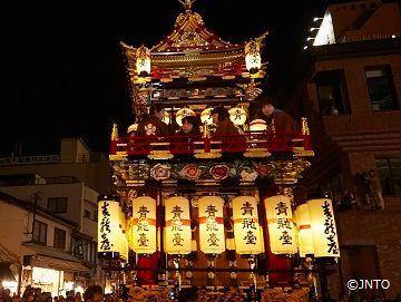 4. Autumn Takayama Festival | Hidden Village Tours<a name=fest5></a>