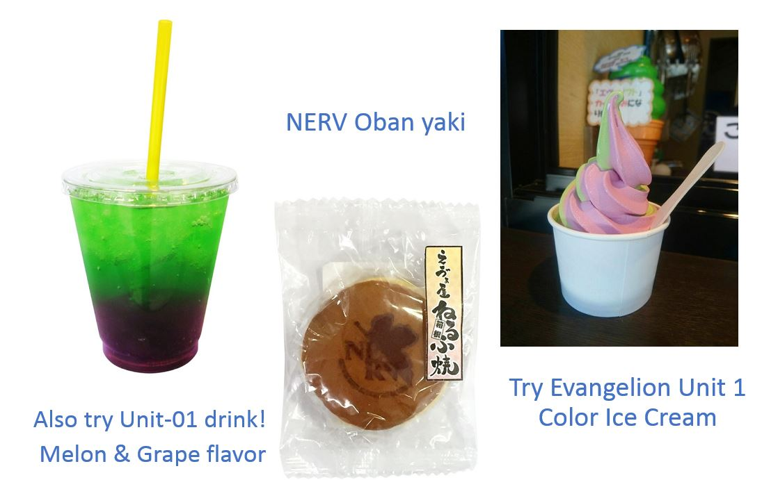 Popular Sweets:  Evangelion Unit 1 Sweets