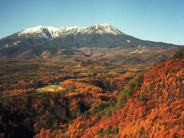 Japan's Second Largest Volcano