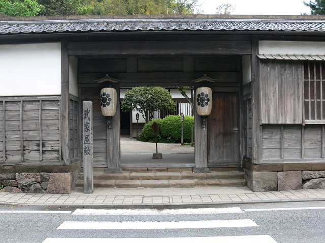 Preserved Samurai Residence in Matsue