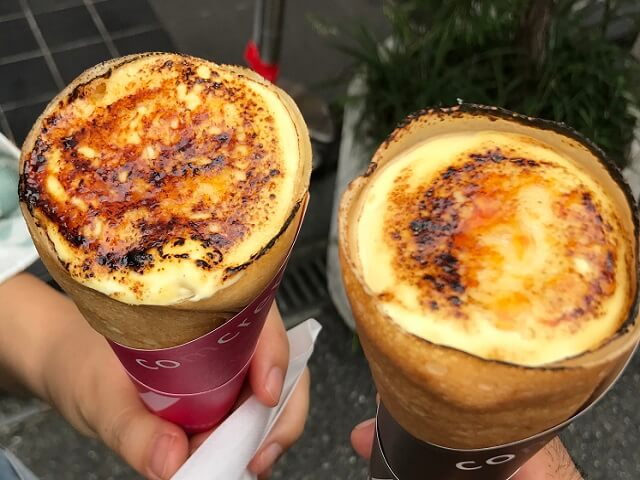 Crepe Popular Snack In Harajuku Japan Deluxe Tours