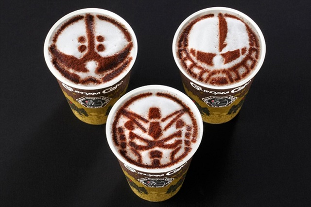 An Otaku Favorite: Gundam Latte Art