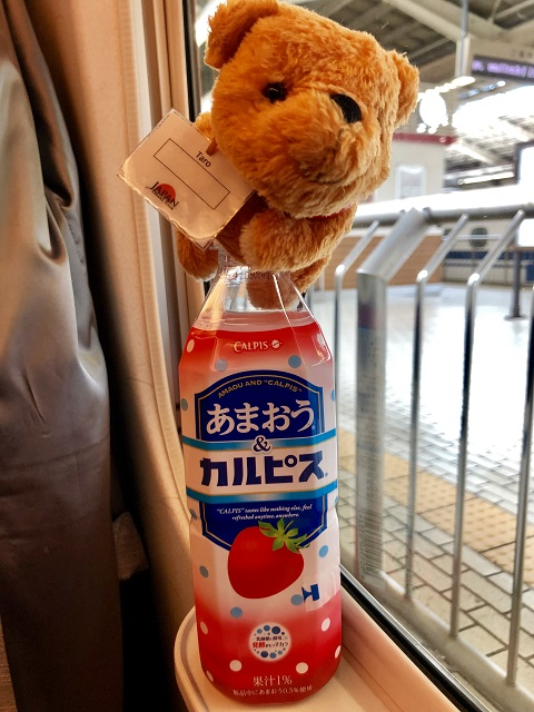 Japan's Best Strawberries meet Japan's Best Soft-Drink!