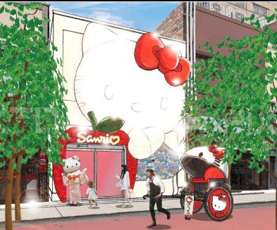 Asakusa's Very Own Hello Kitty Gift Store!