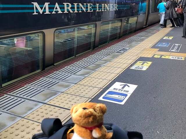 Taro's Japan Tour Adventures: Marine Liner