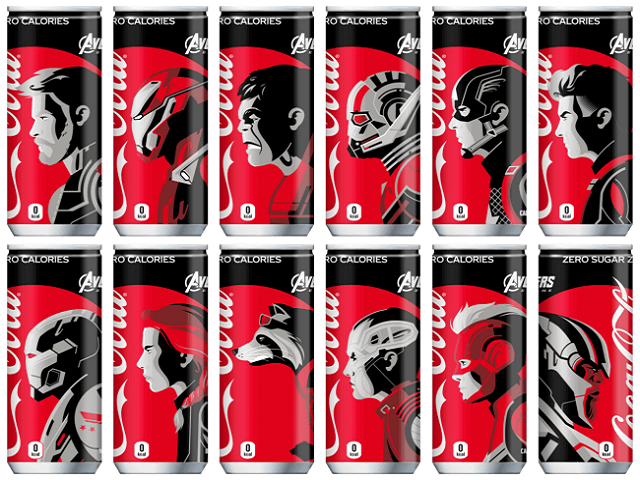 Avengers End Game X Coca-Cola