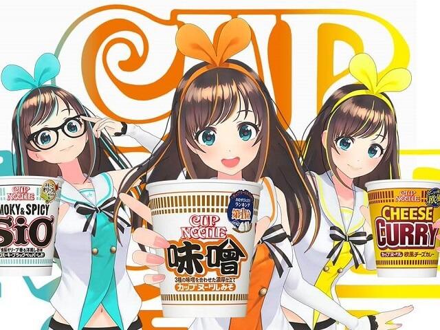 Kizuna Ai & Cup Noodles!