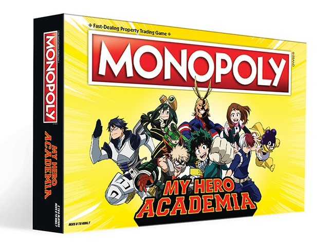 Taro's Japan Tour Adventures: My Hero Academia Monopoly