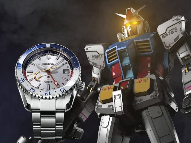 Seiko Prospex X Mobile Suit Gundam Collaboration Models